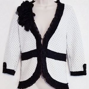 WHBM Jacket Sweater Blazer